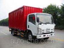 Shangyuan GDY5090XXYQK side curtain van truck