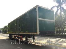 Shangyuan GDY9280XXY box body van trailer