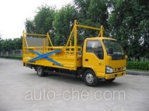 Guanghuan GH5070JHQLJ trash containers transport truck