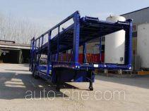 斯派菲勒牌GJC9201TCL型车辆运输半挂车