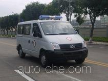 广通客车牌GPY5031XJHSHTT0型救护车
