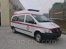 广通客车牌GPY5032XJH型救护车