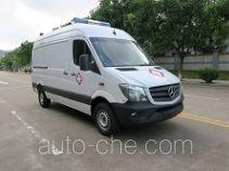 广通客车牌GPY5041XJHSHTB0型救护车