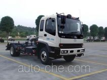 Guanghe detachable body garbage compactor truck