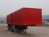Huanqiu GZG9400XXY box body van trailer