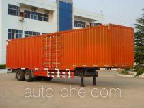 Hugua HBG9270XXY box body van trailer