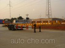 中通牌HBG9351TJZ型集装箱运输半挂车