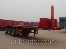 Hugua HBG9400ZZXP flatbed dump trailer