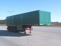 Hugua HBG9403XXY box body van trailer
