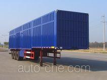 Hugua HBG9407XXY box body van trailer