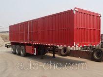 Hugua HBG9408XXY box body van trailer