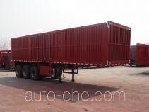 Hugua HBG9409XXY box body van trailer
