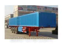 Chuanteng HBS9280XXY box body van trailer