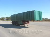 Chuanteng HBS9392XXY box body van trailer