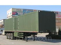 Chuanteng HBS9400XXY box body van trailer