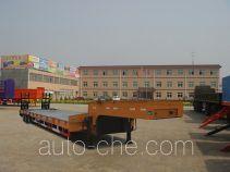 川腾牌HBS9402TDP型低平板运输半挂车