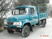 河驰牌HC2510CPD型自卸低速货车