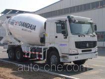 昌骅牌HCH5250GJBZ2型混凝土搅拌运输车