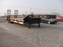 昌骅牌HCH9190TD型低平板运输半挂车