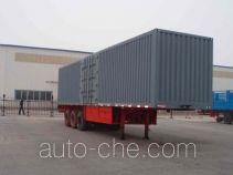 Changhua HCH9330XXY box body van trailer