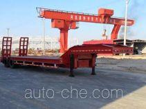 昌骅牌HCH9350TDP型低平板运输半挂车