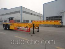 Changhua HCH9350TWY dangerous goods tank container skeletal trailer