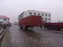 Changhua HCH9350XXY box body van trailer