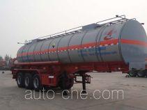 Changhua HCH9400GFWLW corrosive materials transport tank trailer
