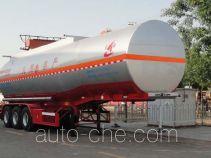 Changhua HCH9400GRY45 flammable liquid aluminum tank trailer