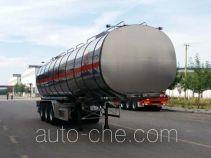 Changhua HCH9400GRYF flammable liquid aluminum tank trailer