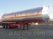Changhua HCH9400GRYLHJ3 flammable liquid aluminum tank trailer