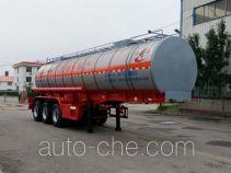 Changhua HCH9400GRYLW flammable liquid tank trailer