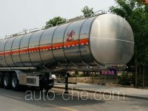 Changhua HCH9400GRYMR flammable liquid aluminum tank trailer