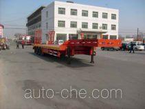 昌骅牌HCH9400TD型低平板运输半挂车