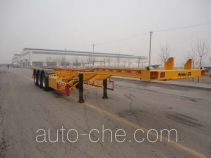 Changhua HCH9400TWY dangerous goods tank container skeletal trailer