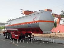 Changhua HCH9401GFW30 corrosive materials transport tank trailer