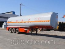 Changhua HCH9401GRY flammable liquid aluminum tank trailer