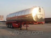 Changhua HCH9401GRYA flammable liquid aluminum tank trailer