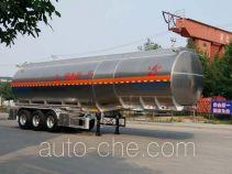 Changhua HCH9401GRYJCA flammable liquid aluminum tank trailer