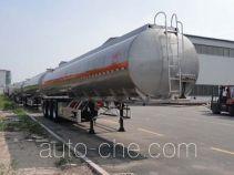 Changhua HCH9401GRYLHJ2 flammable liquid aluminum tank trailer