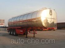 Changhua HCH9401GSY35 edible oil transport tank trailer