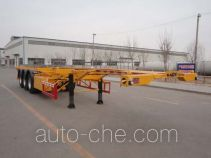 Changhua HCH9401TWY dangerous goods tank container skeletal trailer
