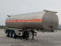 Changhua HCH9402GRYJ flammable liquid aluminum tank trailer