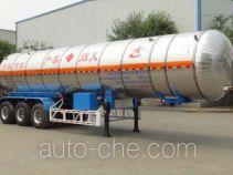 Changhua HCH9404GRY flammable liquid tank trailer
