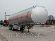 Changhua HCH9406GYYLHJ3 aluminium oil tank trailer