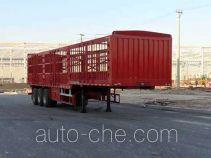 昌骅牌HCH9408CCY12W1型仓栅式运输半挂车