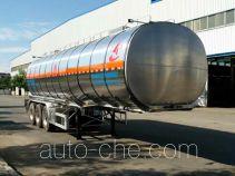 Changhua HCH9408GRY flammable liquid aluminum tank trailer