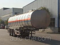 Changhua HCH9408GRYD flammable liquid aluminum tank trailer