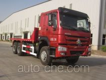 Sunhunk HCTM HCL3257ZZN41P5L4 flatbed dump truck