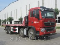 Sunhunk HCTM HCL3317ZZN35P7G4 flatbed dump truck